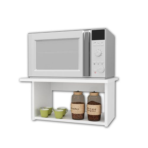 Mueble aereo para microondas google search casa - Ideas originales para cocinas ...