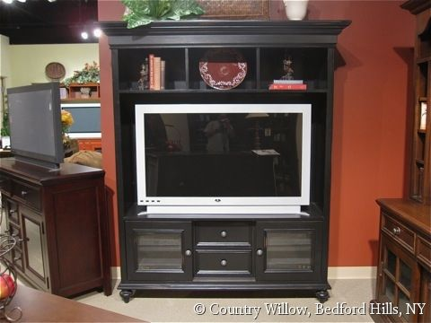 Country Willow Furniture Corner Tv Stands