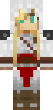 Minecraft Assassin Girl Skin Assassins Creed Recrutegirl - Skin para minecraft pe de assassins creed