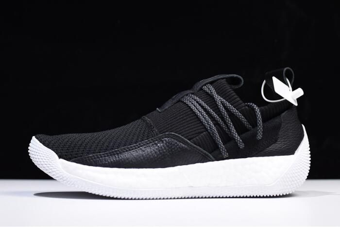 02a25f734c6b 2018 Mens Adidas Harden LS 2 Buckle Black White AC7438 For Sale