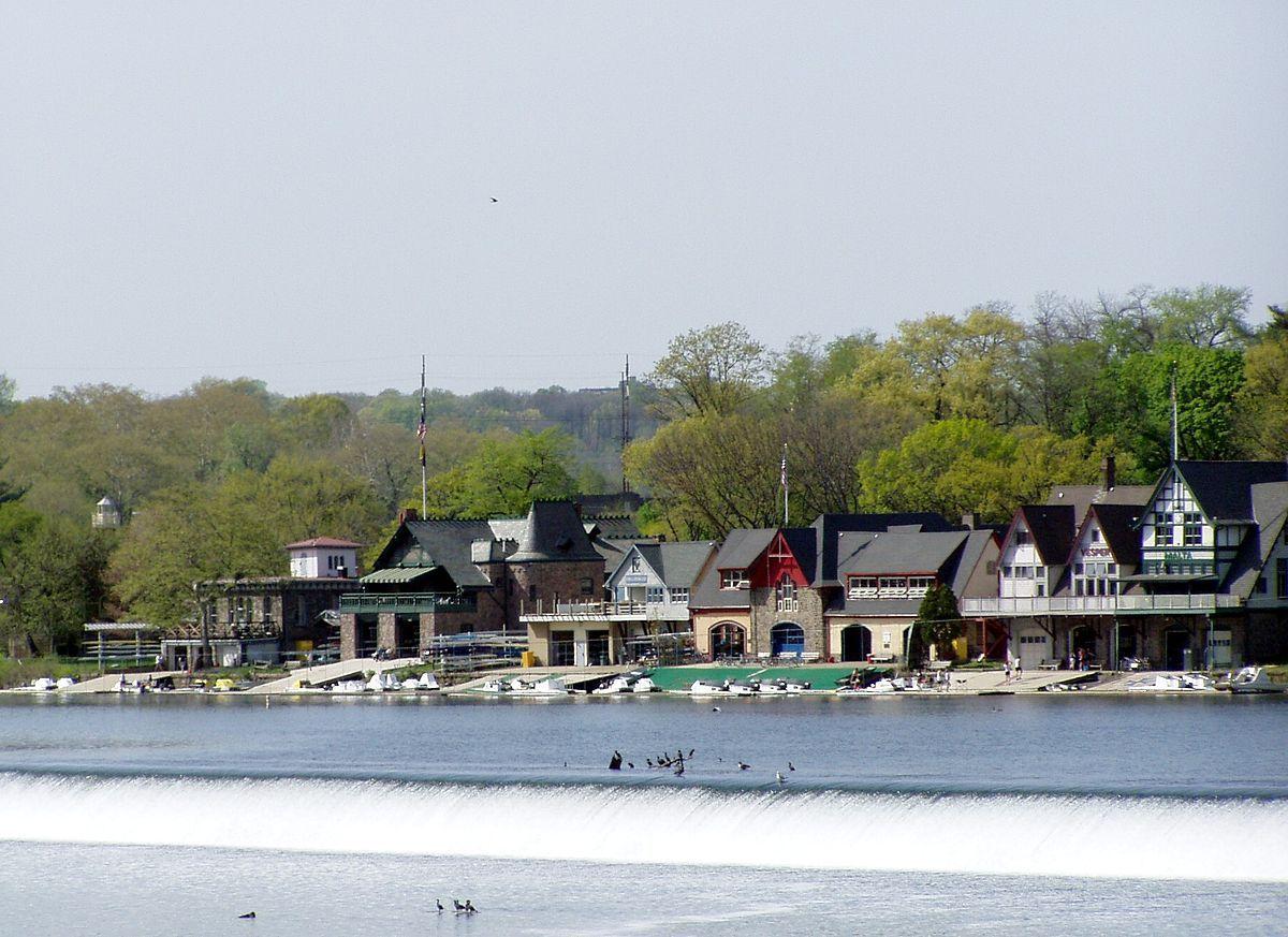 boathouse row philadelphia National register of historic