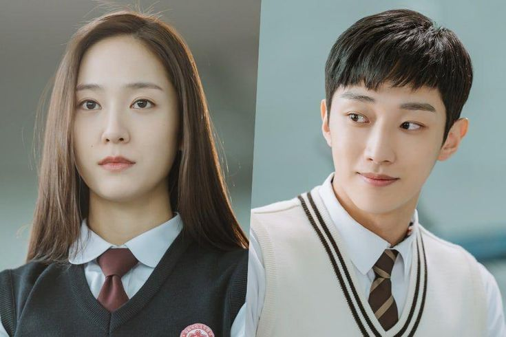 """Krystal And Jinyoung Transform Into Two Very Different High School Students In """"Police University"""""""