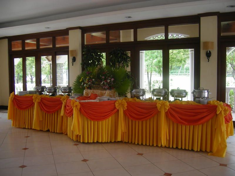 Attractive Catering Buffet Set Up