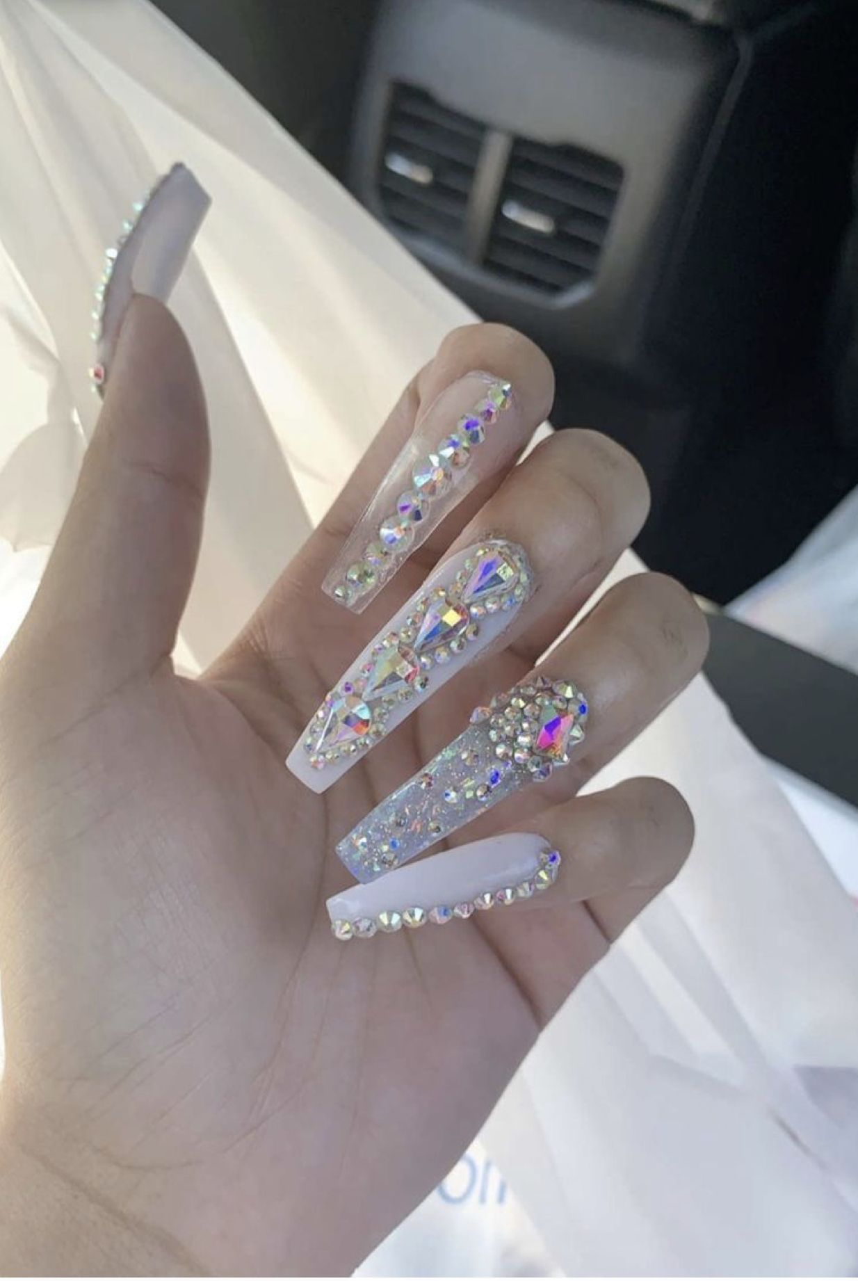 Pin By Tee Laniece On Claws Bling Acrylic Nails Fall Acrylic Nails Bling Nails