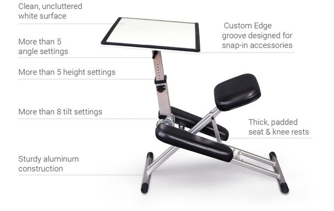 Be More Productive And Maximize Space With This Comfortable Ergonomic Desk Chair Easel Combo That Cadeiras Ergonomicas Cadeira De Escritorio Design De Moveis