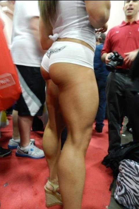gespierde bovenbenen