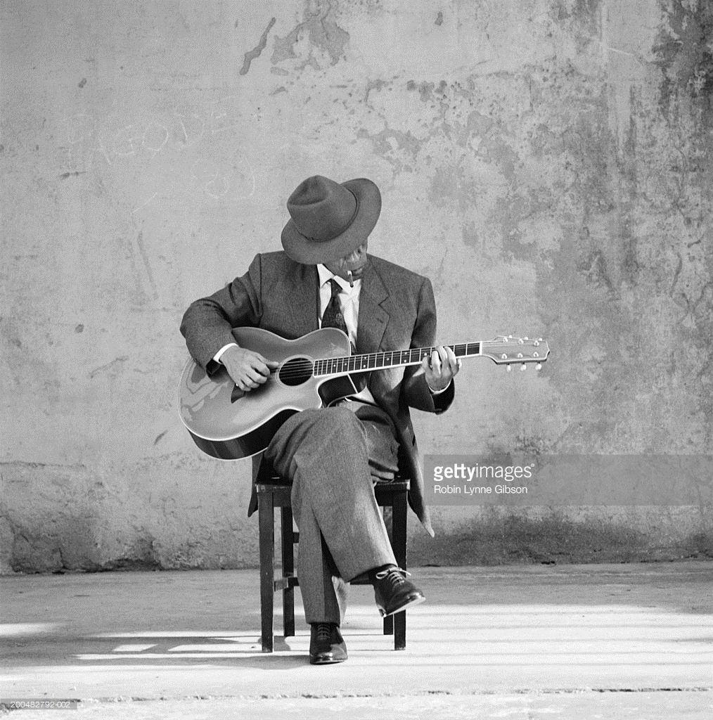 Man Sitting Playing Guitar Playing Guitar Man Sitting Guitar Sketch