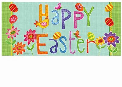Sassafras Happy Easter Switch Mat 10 X 22 Insert Happy Easter Entry Mats Mat 10