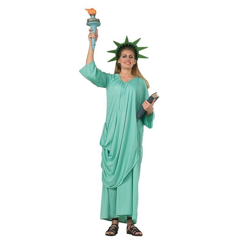 Statue of Liberty Costume - Adult, Multicolor