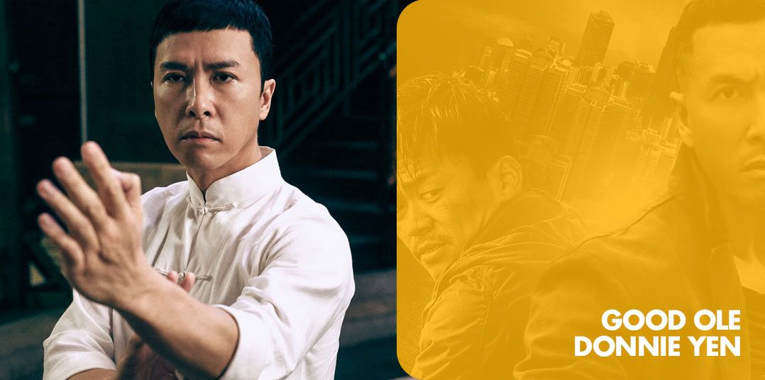 Good Ole Donnie Yen by Bryce Cooley | With the upcoming Star Wars: Rogue One coming I thought it would be fun to do a flixtape of one of it's new force sensitive cast, Donnie Yen.  I first got into Mr. Yen watching the Ip Man Trilogy (I highly recommend this) though in fairness 3 was only okay.  If you like a great action and mostly goo...