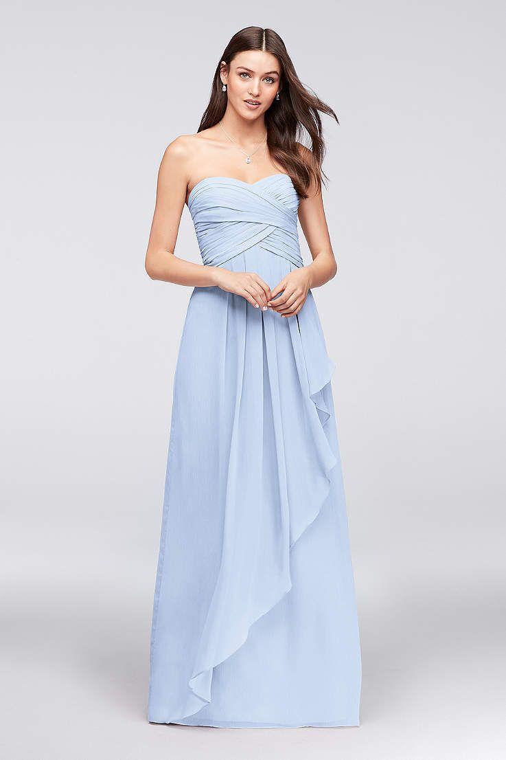 2ed8f3777c9 View Strapless Sweetheart Bridesmaid Dress at David s Bridal ...