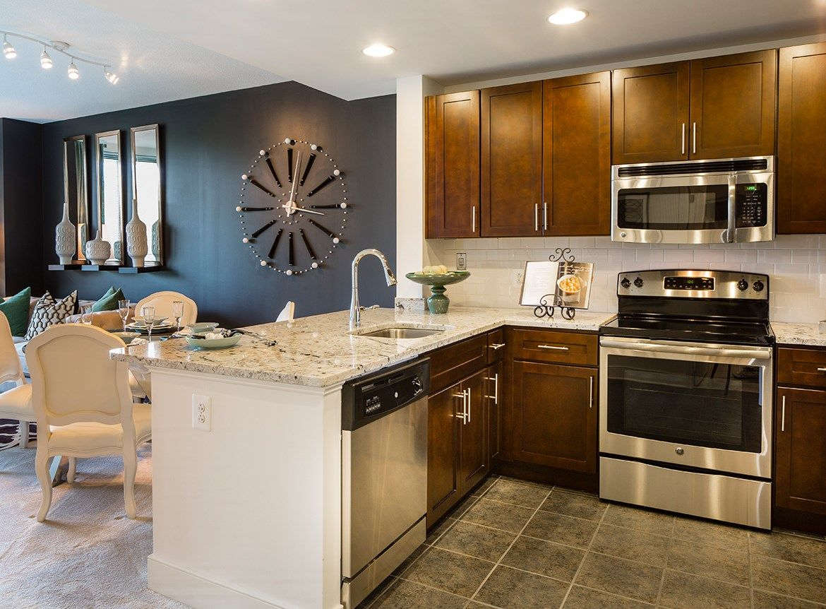 Photos And Video Of Aurora In North Bethesda Md Modern Kitchen Home Apartment