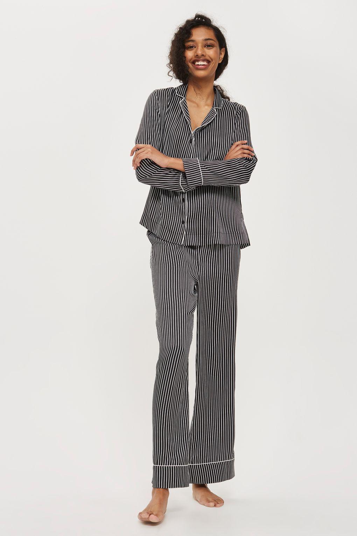 Satin Striped Shirt PJs  7206cda21