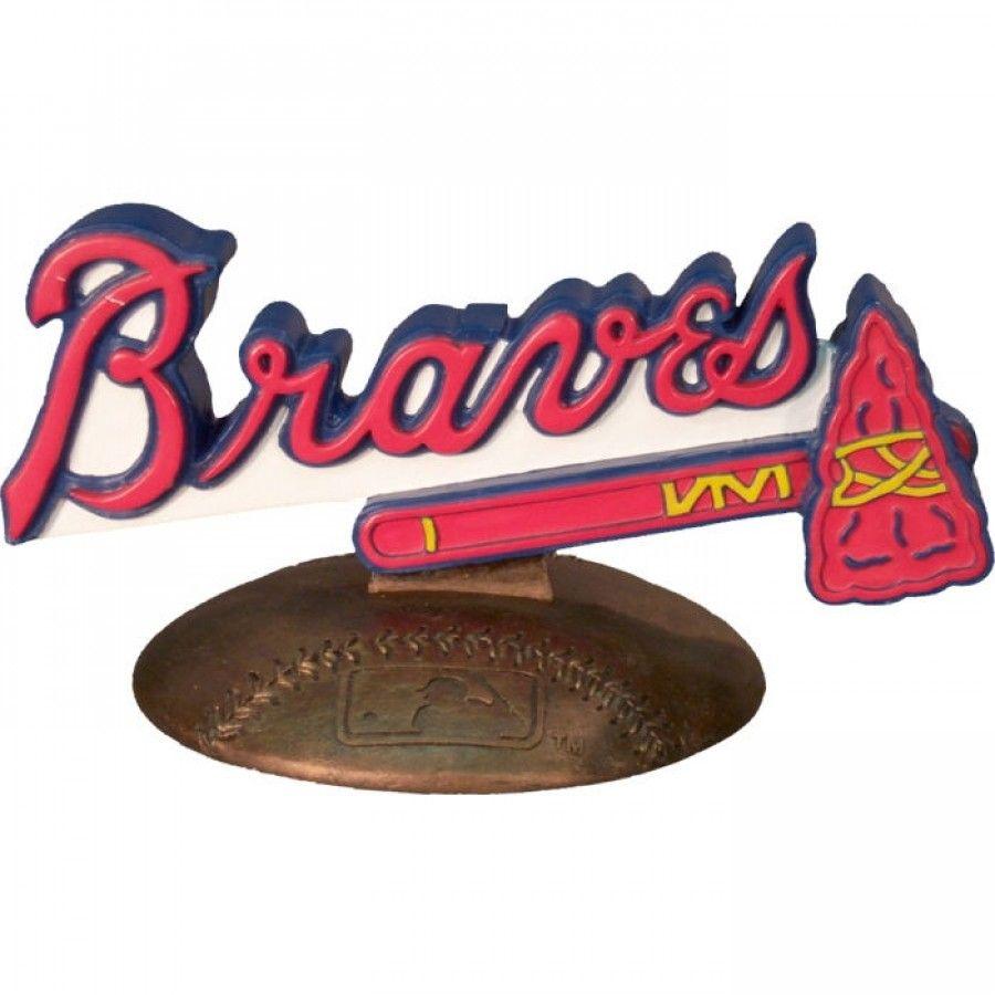 The Memory Company Atlanta Braves 3D Logo Figurine - MLB-ABR-200