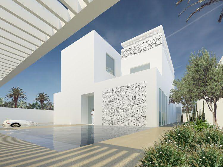 If It S Hip It S Here Luxury Villas In Riyadh Saudi Arabia By Orange Architects Architecture Luxury Villa Villa Style