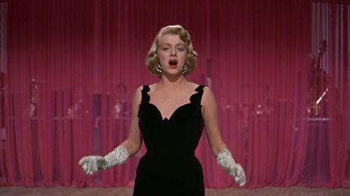 rosemary clooney in white christmas that black dress is one of the reasons i continue