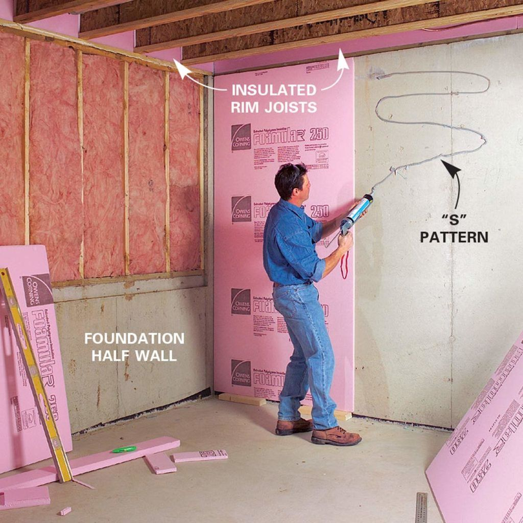 How to Finish a Basement Framing and Insulating is part of home Renovation Basement - With special framing and insulating techniques, your basement can be as comfortable as any other room in your home  Find out more about insulating basement walls and framing basement walls here
