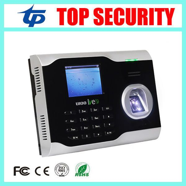 Free Shipping TCP/IP fingerprint time attendance time clock LIVE ID