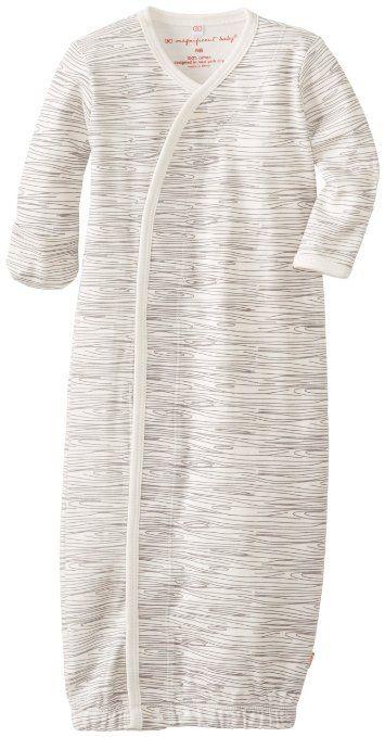 Style classique profiter de gros rabais dernière mode Amazon.com: Magnificent Baby Unisex-Baby Newborn Gown, Birch ...