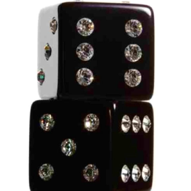 Swarovski Dice, because players need it too