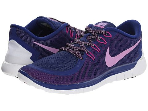 cbee2858ee15 Nike Free 5.0 Deep Royal Blue Fuchsia Flash Club Pink Fuchsia Glow -  Zappos.com Free Shipping BOTH Ways