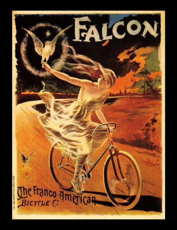 vintage bike advertisement