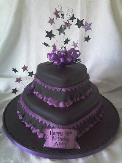 Awe Inspiring Gothic Wedding Cakes Gothic Rock Cakes From B B Cakes Blaenau Birthday Cards Printable Inklcafe Filternl