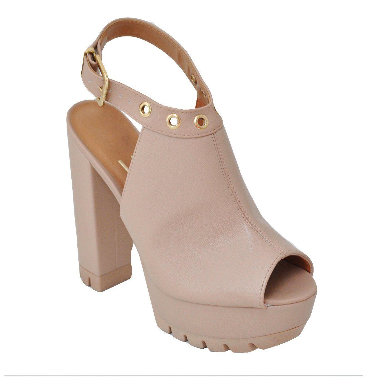 a68fc49a545 Compre Online Sandália feminina meia pata Vizzano 6373.104 ...