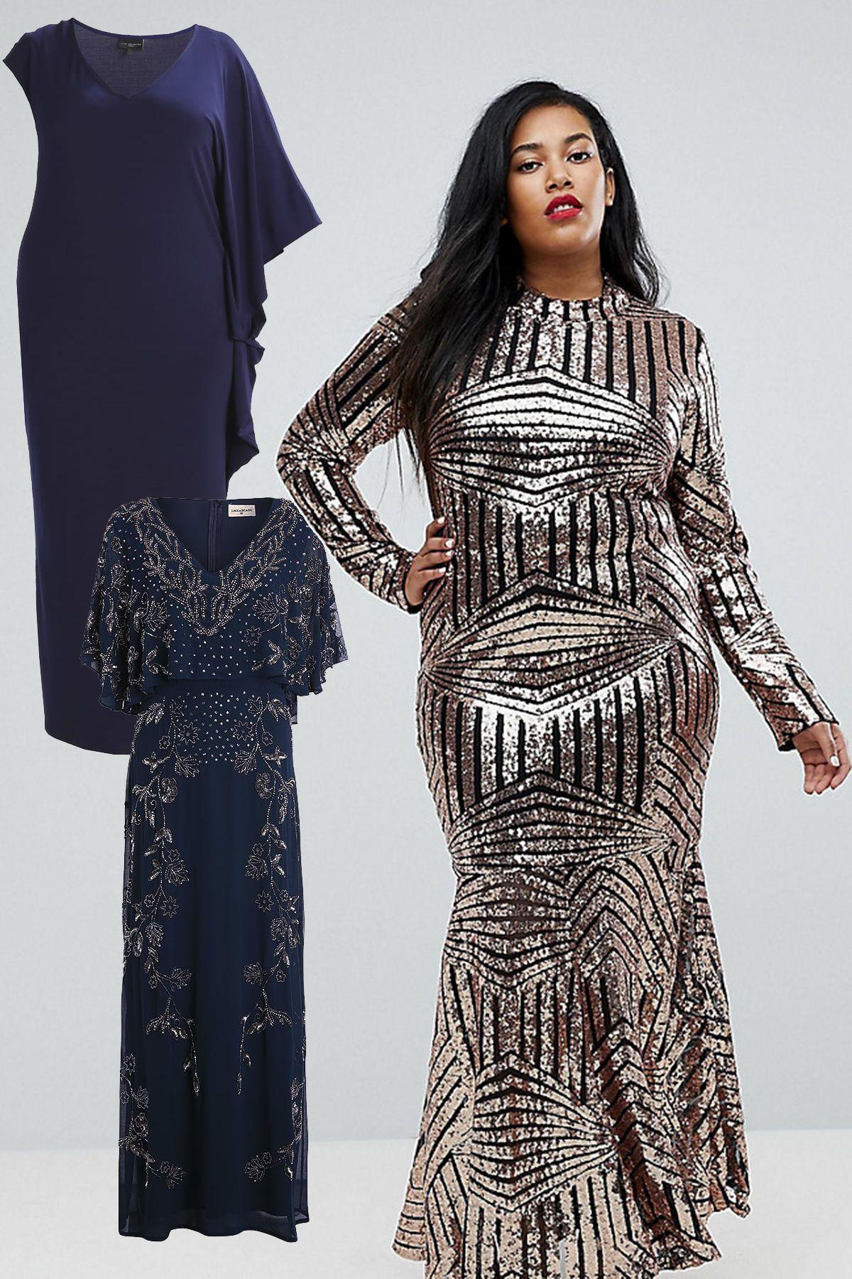 Abendkleider für große Größen: Tolle Partymode  Abendkleid Bilder