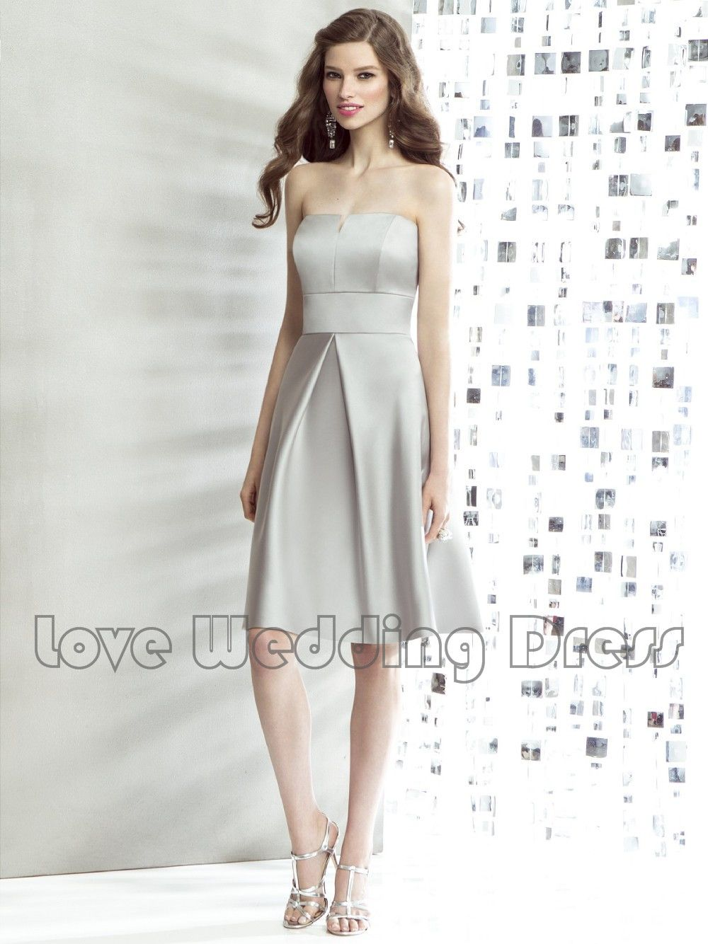Satin Off The Shoulder Knee Mini Cocktail Dresses A Line Short Prom Dresses  Sexy Backless Evening. Cheap Bridesmaid ...