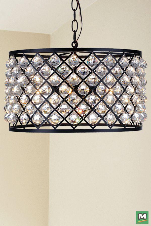 Patriot Lighting Elegant Home Paisley Drum Pendant With Oil