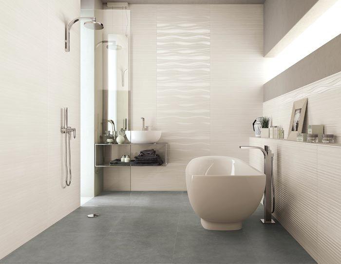 Nuovi rivestimenti re si de di supergres effetto marmo e pietra naturale satinata bathroom - Pietre per bagno ...
