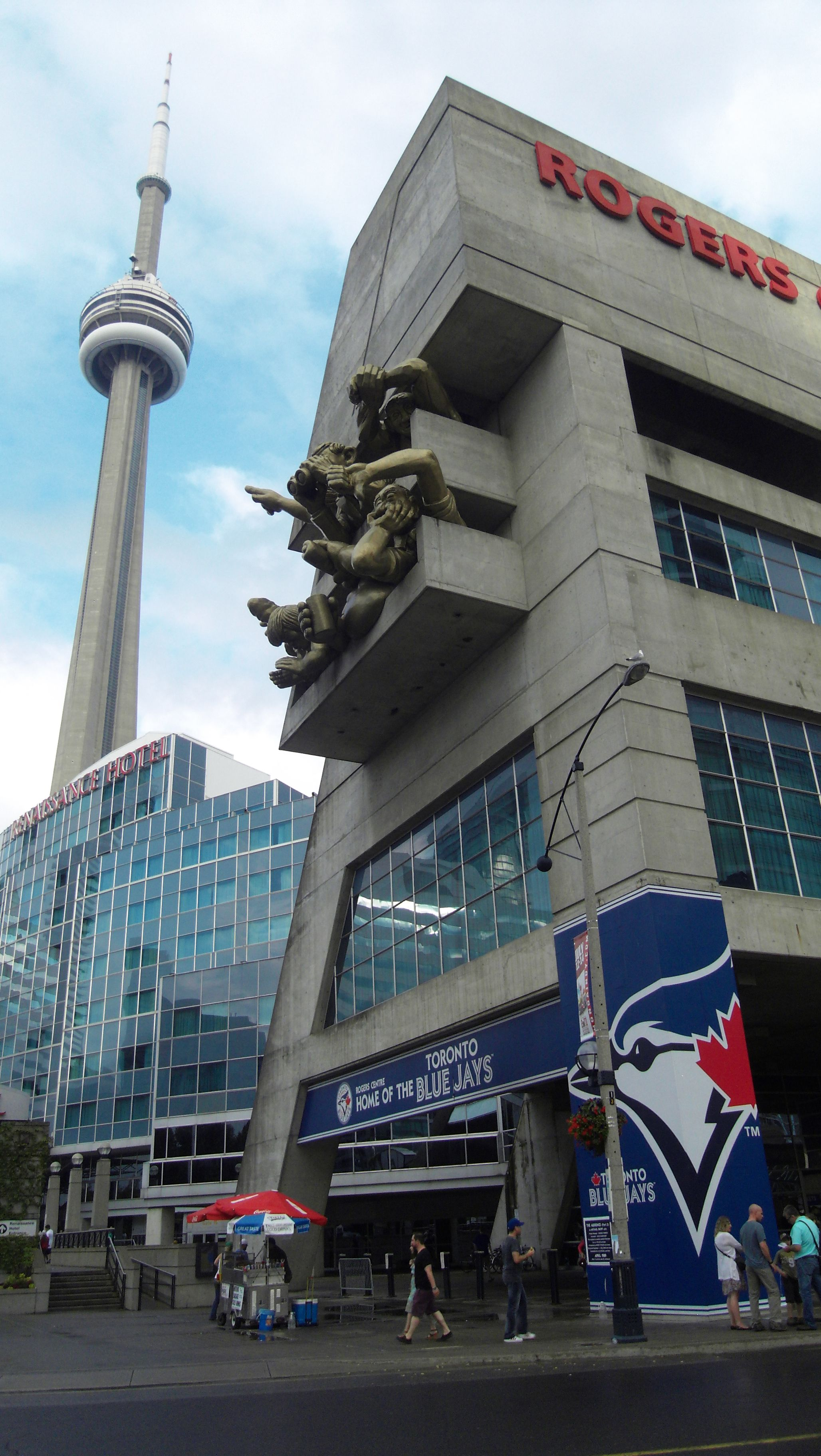 Short walk from Union Station (subway and train station). Just north of Toronto's Harbourfront, The Rogers Centre is also accessible from Lake Shore Blvd at the Spadina exit