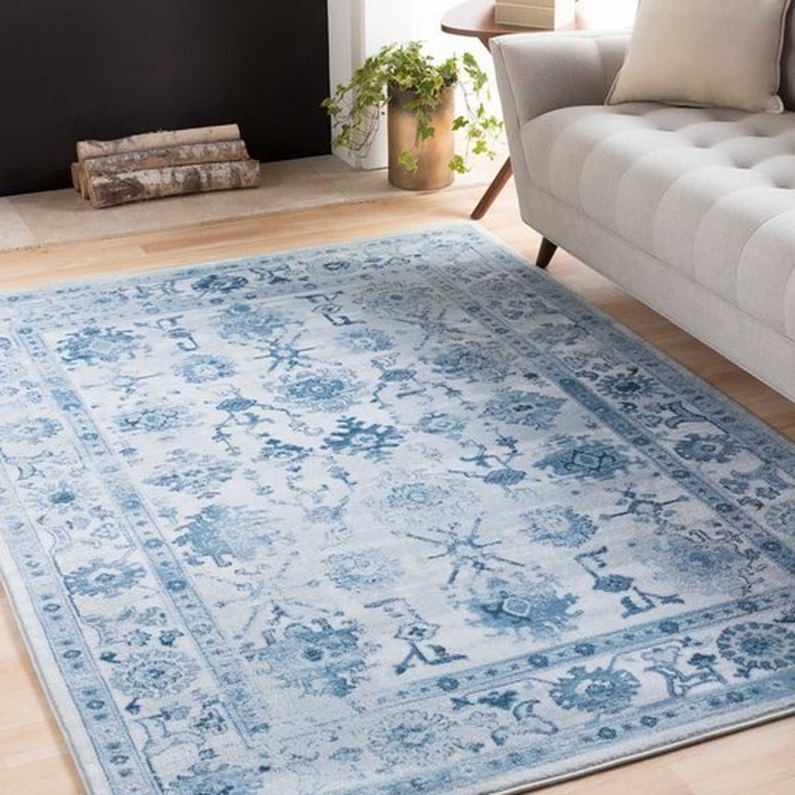 Nova 7 10x10 6 Area Rug Neva Home Area Rugs Blue Area Rugs Rugs