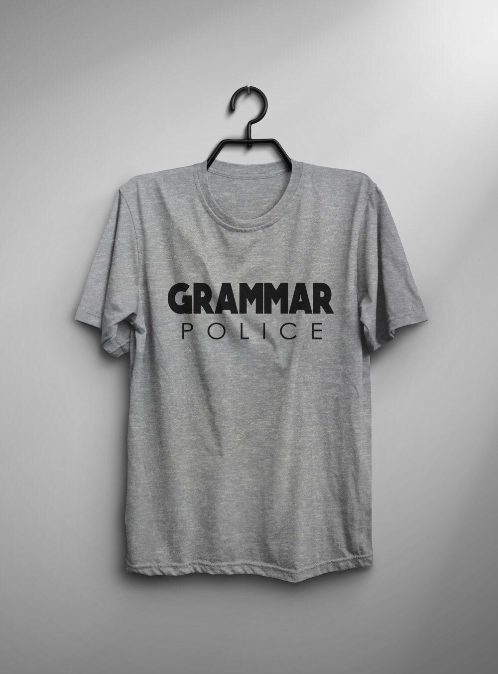 Grammar police t-shirt english teacher shirt gift womens graphic tee for teens college high school graduation mens funny tshirt #coloredeyecontacts
