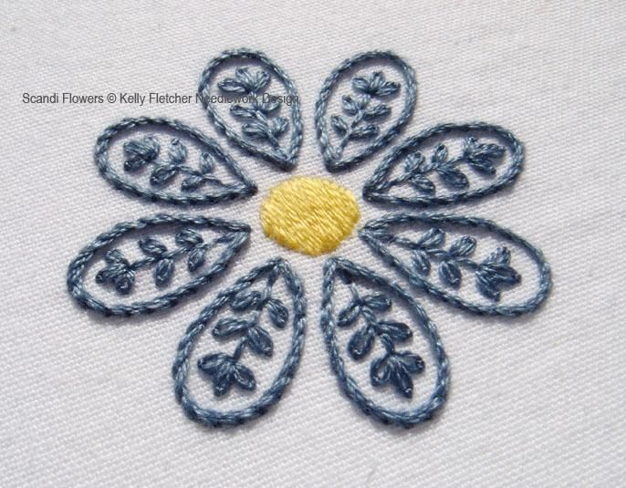 Scandi Flowers Embroidery Flowers And Stitch