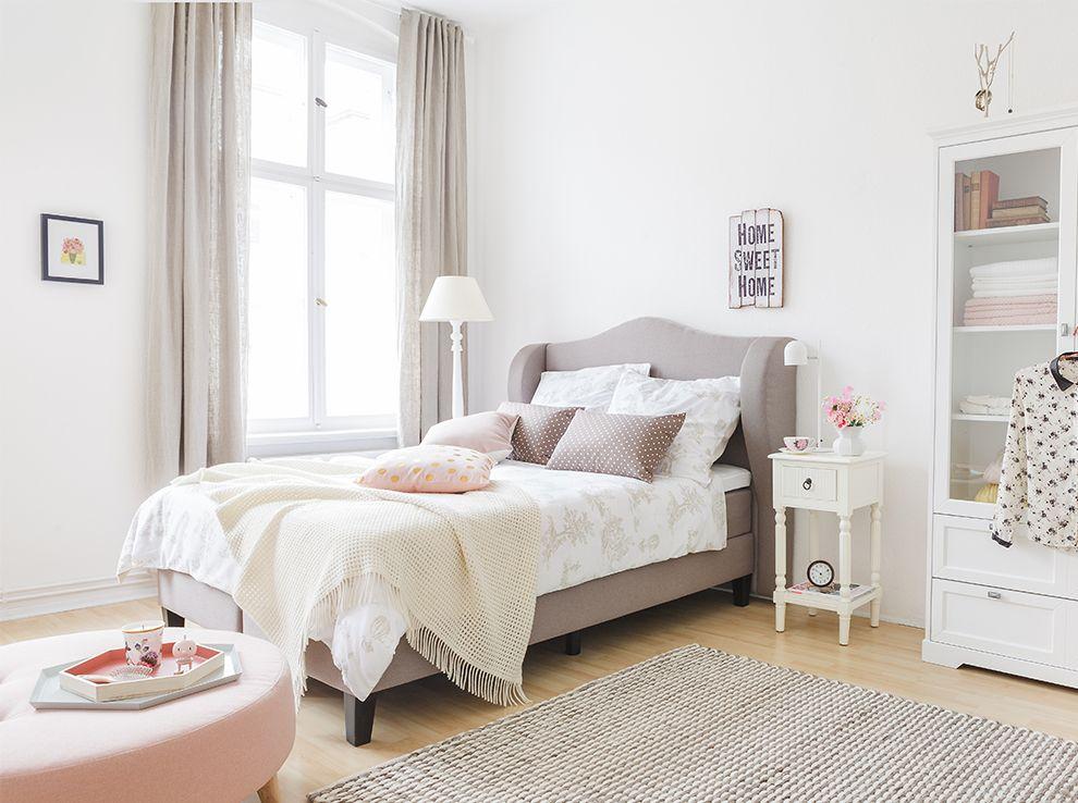 ein schlafzimmer lieblingslook interior schlafzimmer pinterest schlafzimmer bett und. Black Bedroom Furniture Sets. Home Design Ideas