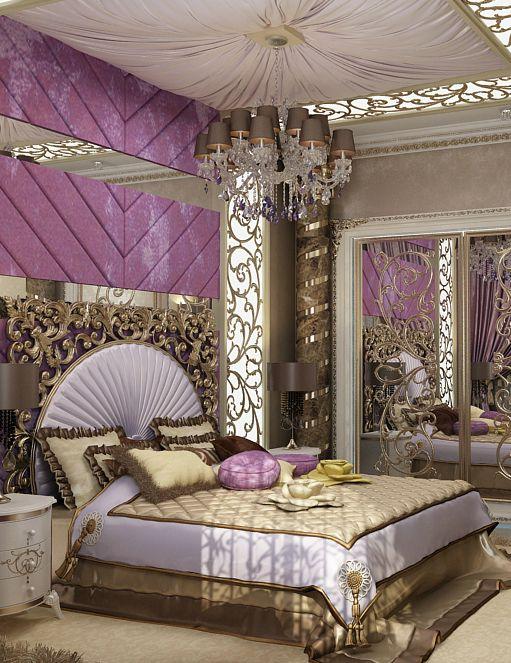 Best Antonovich Design … Luxurious Bedrooms Elegant Bedroom 640 x 480