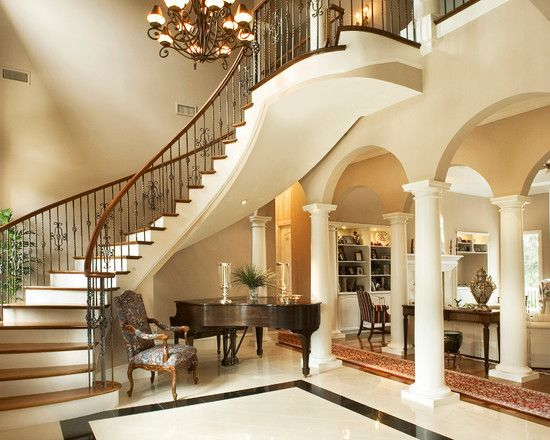 Spaces Wrought Iron Spindles Design, Pictures, Remodel, Decor And Ideas    Page 3