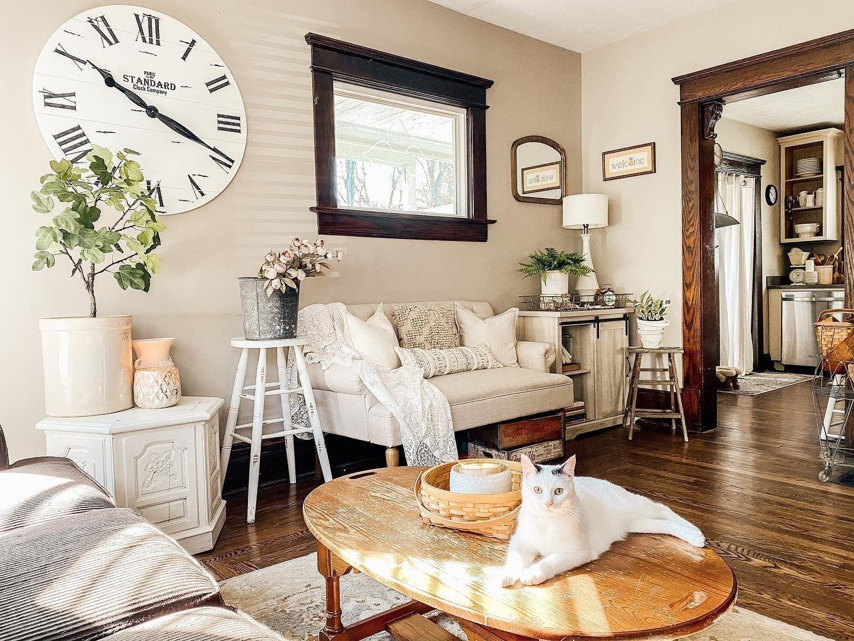Home Decor Clock In 2020 Next Living Room Wall Decor Li