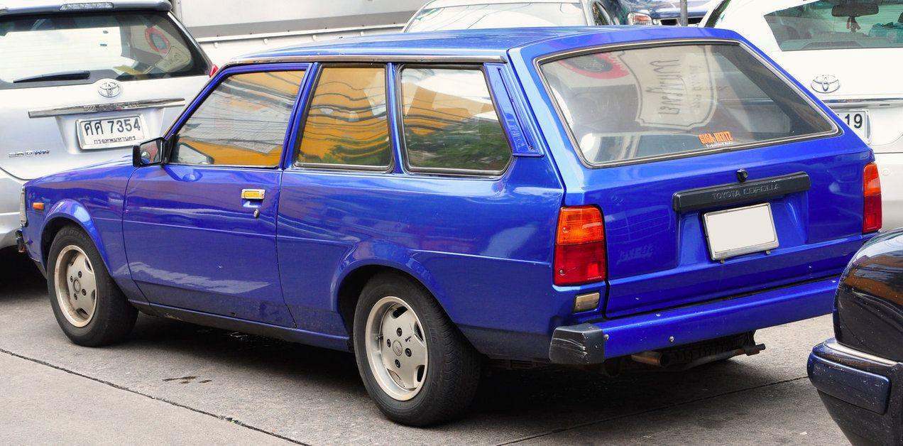 Toyota corolla ke70 2 d