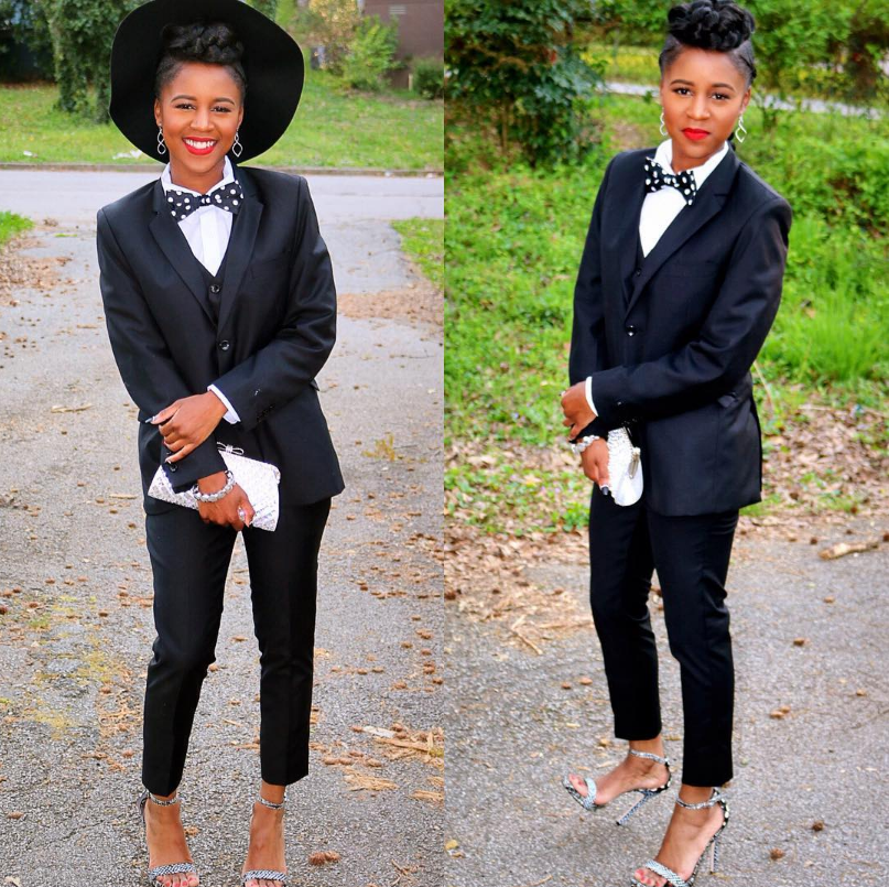 7 Black Girls Who Wore Suits to Prom and SLAYED | Black girls, Prom ...