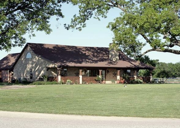 nice texas ranch house stylendesignscom - Texas Ranch Style Home Plans