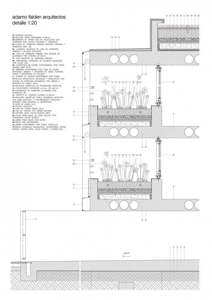 Architecture Photography Details 241500 Architectural Section Roof Detail Architecture Details