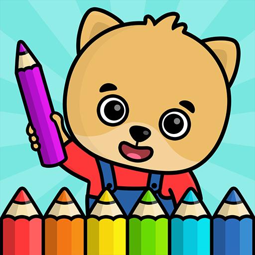 Coloring Book For Kids V1 100 Mod Apk Apkmod Modapk Cheats Hack Coloring Games For Kids Car Games For Kids Learning Games For Kids