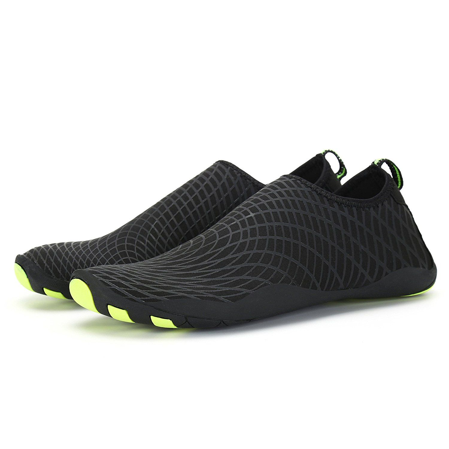 Men Women Quick Drying Aqua Water Shoes Athletic Sport Lightweight Slip On Walking Shoes Beach