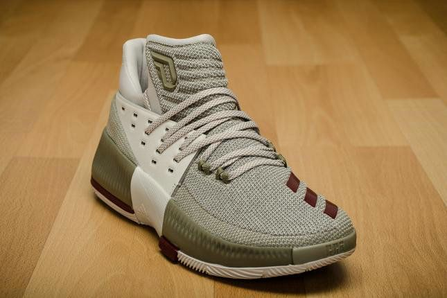pretty nice 52e9b 75bf2 Free Shipping Only 69  adidas Dame Lillard 3 West Campus BW0326 grey green  bordeaux Weight