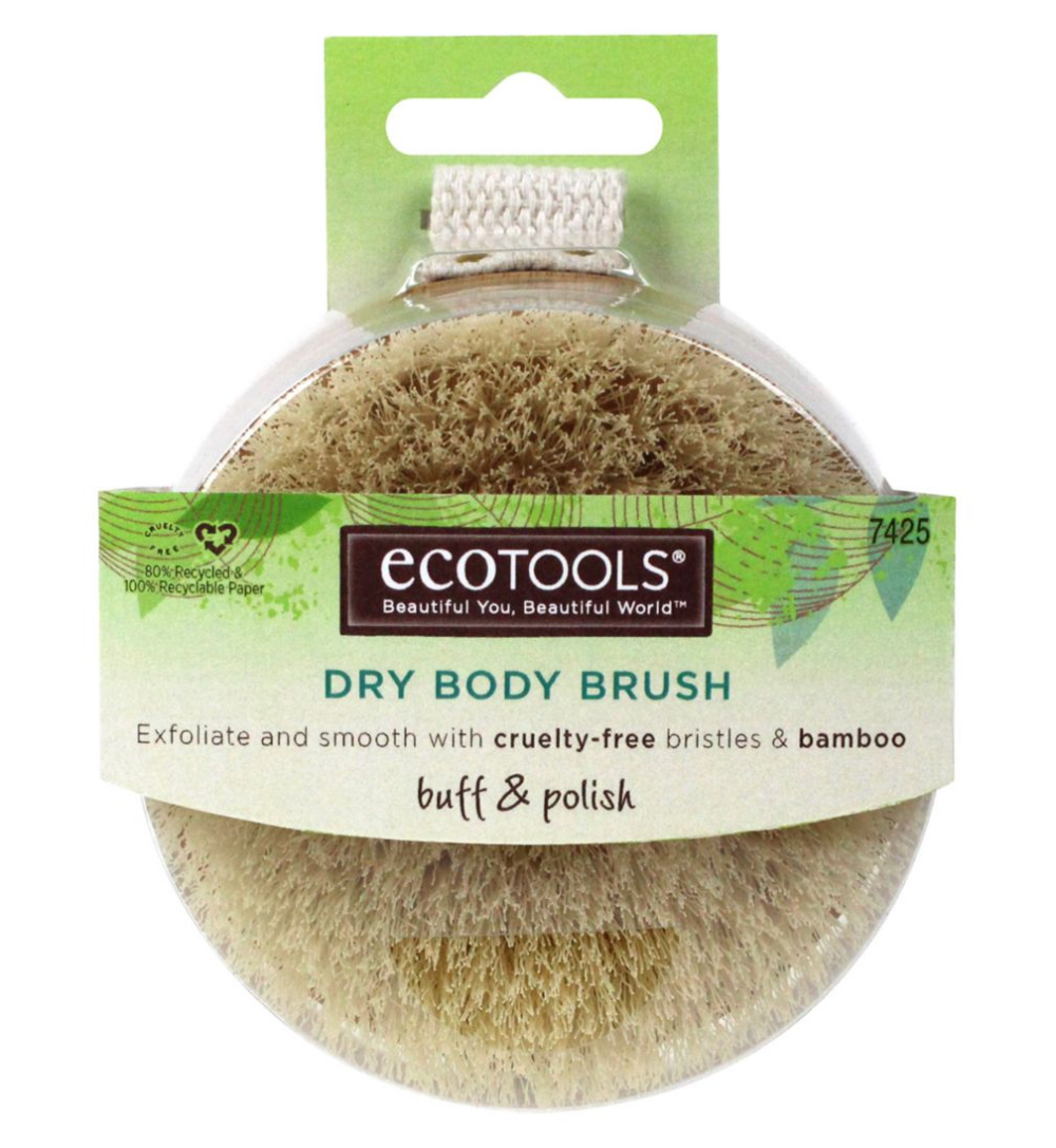 Ecotools body brush dry in 2020 Dry body brushing, Body