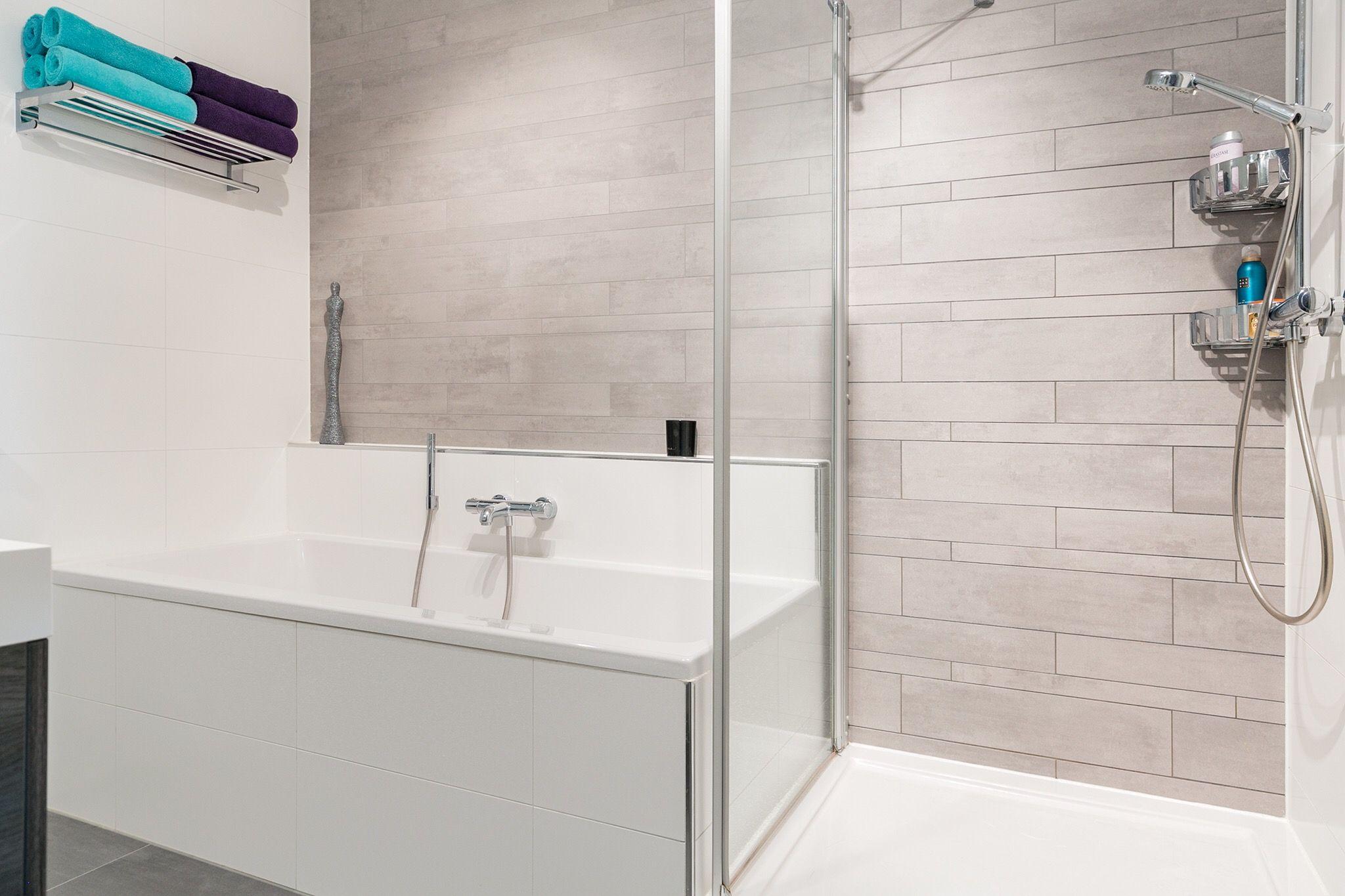 Design badkamer en optimaal gebruik van de ruimte. Maisonette woning ...