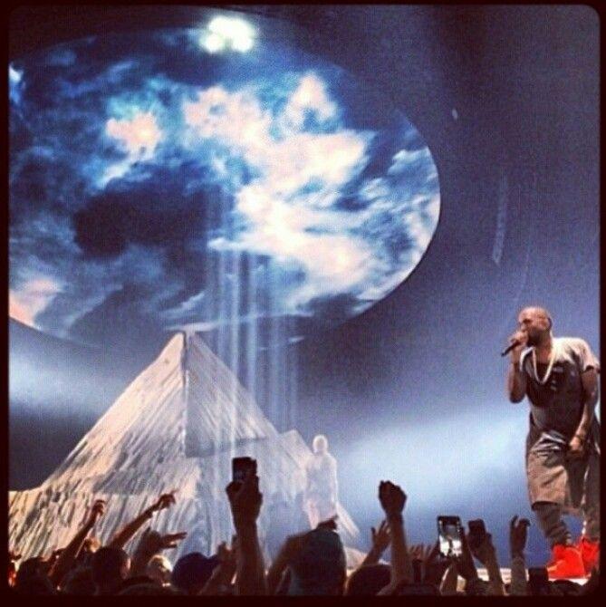 Yeezus Tour Stage Shot Yeezy Kanye West Yeezus Yeezus Tour Kanye West